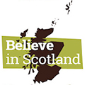 Believe In Scotland logo